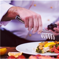 Private chef to cook your ingredients, serve & clear. From £129.95+VAT per service