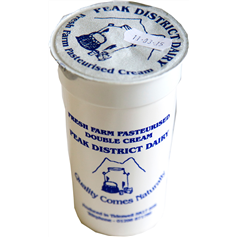 Peak District Dairy Double Cream (250mL)